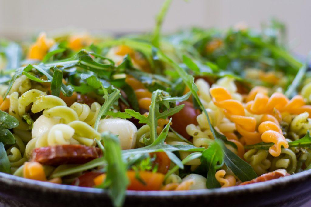 Foto van een frisse salade