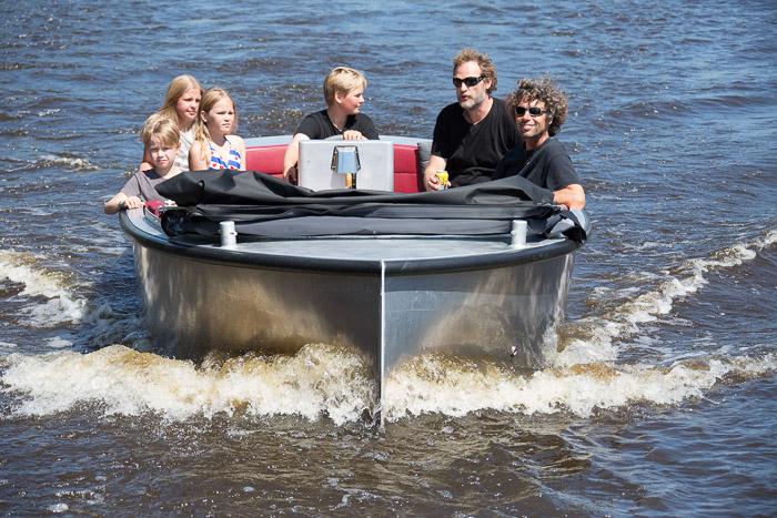 Familiedag sloepvaren: met je familie sloepvaren in Friesland.